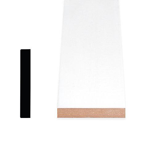 1/2-inch x 2 1/2-inch x 96-inch Modern MDF Painted Decosmart Fibreboard Casing