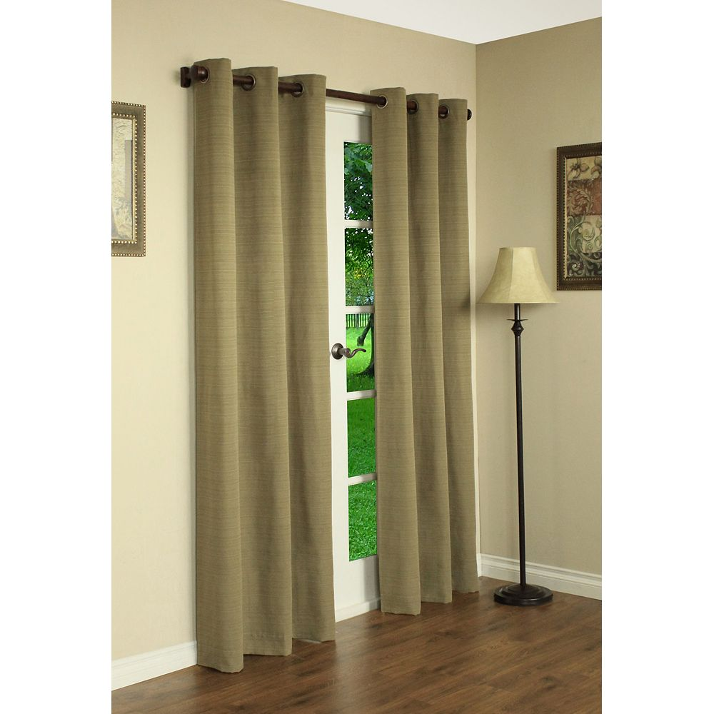 Habitat Roma Curtain, Carmel - 42 Inches X 84 Inches