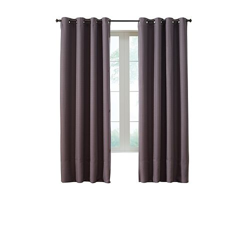 Home Decorators Collection Panneau à œŒillets Isolant , Marron - 137 cm X 241 cm