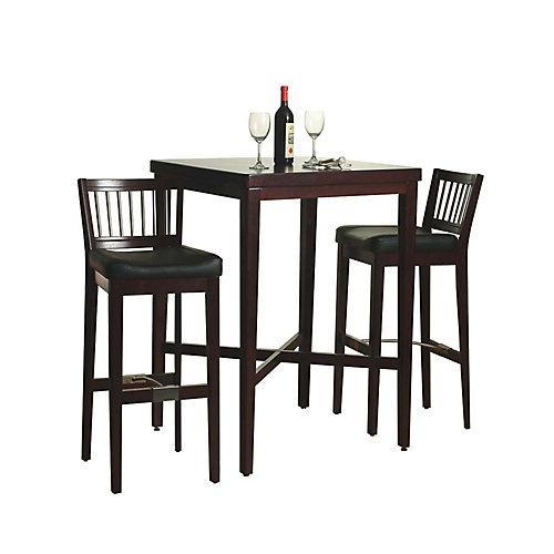 Cherry 3-Piece Pub Table set