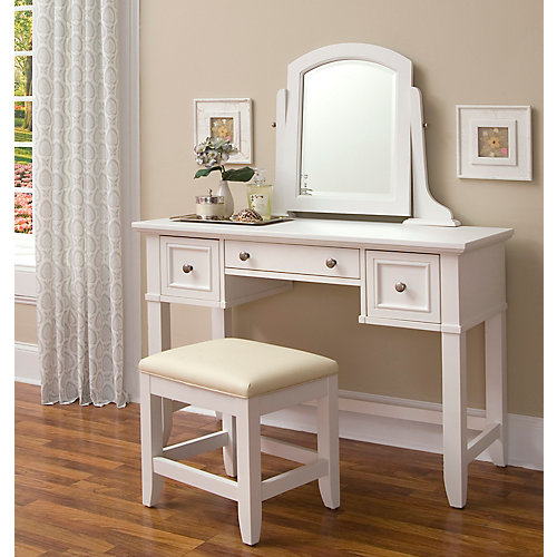 Naples Vanity & Bench Set