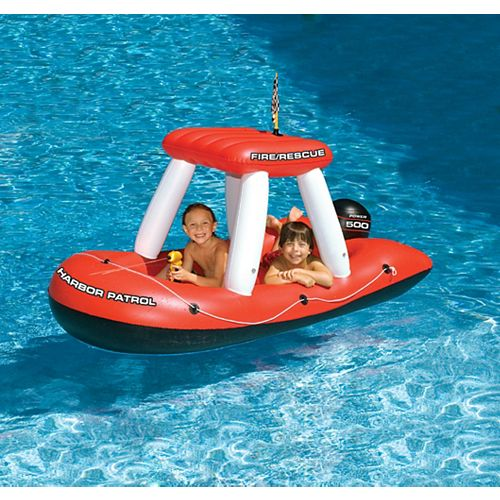 Fireboat Squirter Inflatable Pool Toy