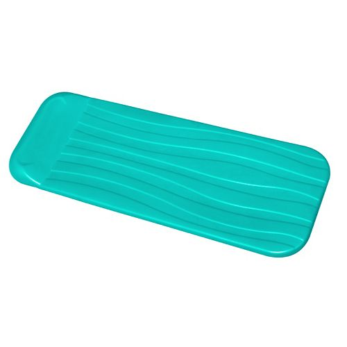 Deluxe 1.75-in Thick Cool Pool Float - Aqua