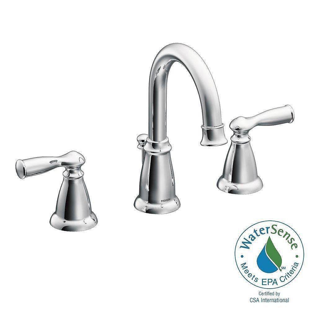 Moen Banbury 8 Inch Widespread 2 Handle, Bathroom Faucets 8 Inch Spread