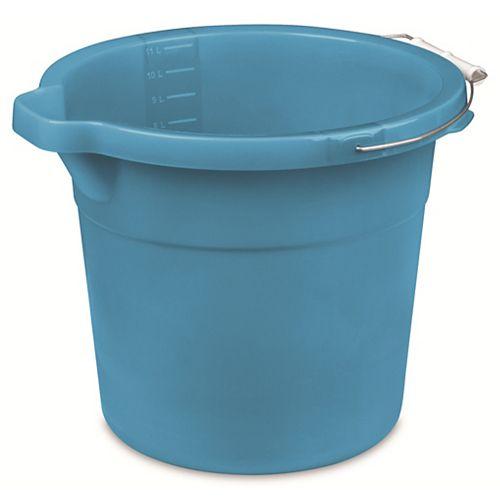 12 Quart /11.4 litre Bec Pail Bleu Aquarium