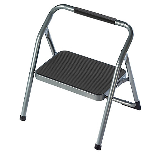 1-Step Steel Step Stool Ladder