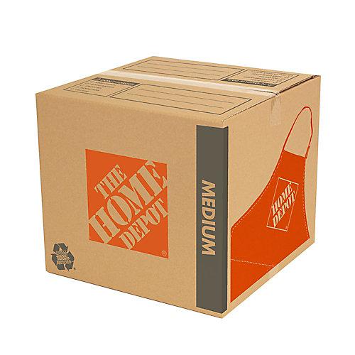 18 inch L x 18 inch W x 16 inch D Medium Moving Box