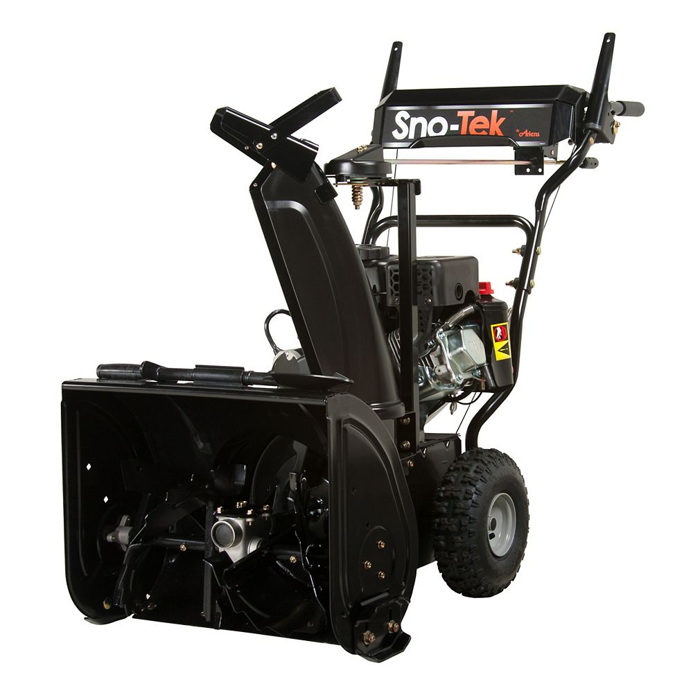 Snotek Sno-Tek 20 120V Single Speed Electric Start Gas Snowblower with 20-inch Clearing Width