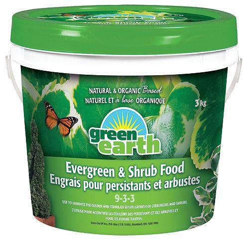 GreenEarth<sup>®</sup> Engrais pour arbres et arbustes