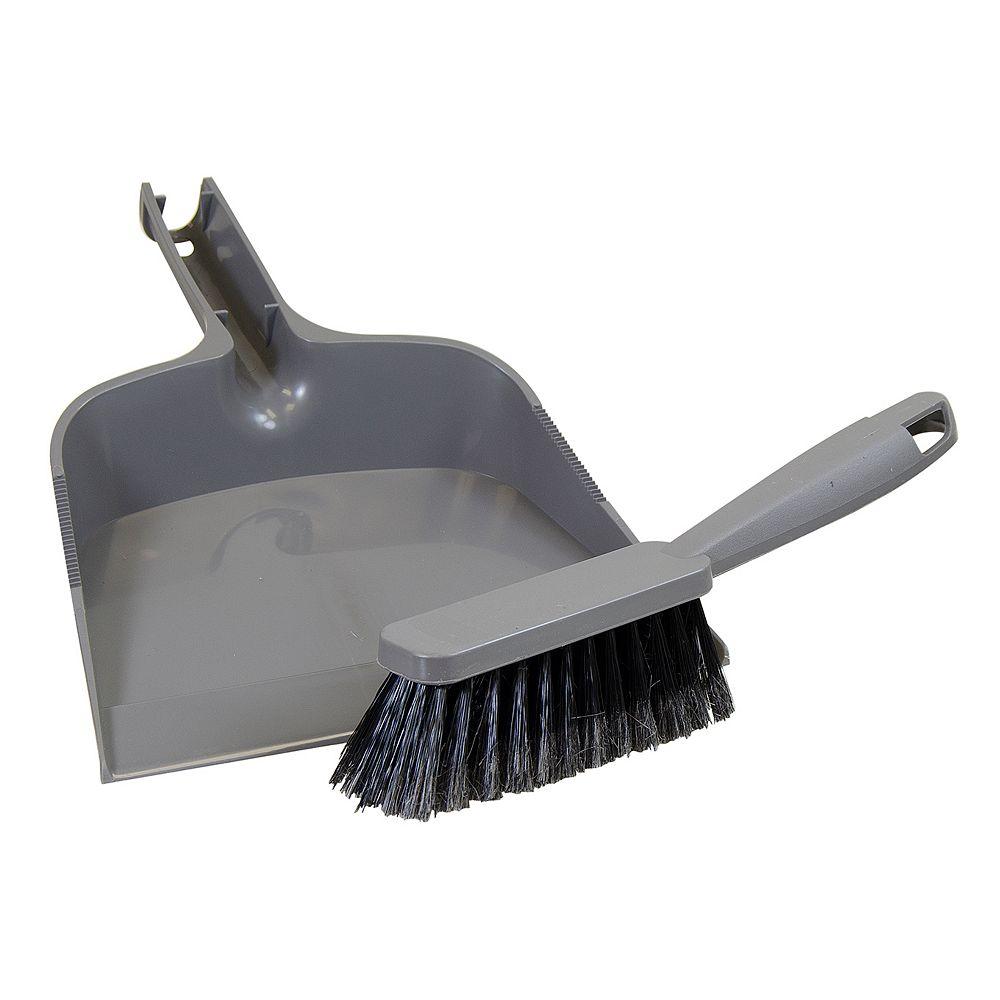 HDX Dust Pan and Brush Set