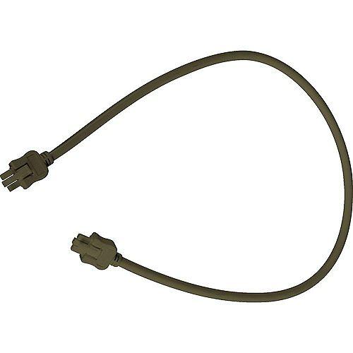 Câble de branchement Hide-A-Lite III - fini Bronze à l'Ancienne de 24po (61cm)