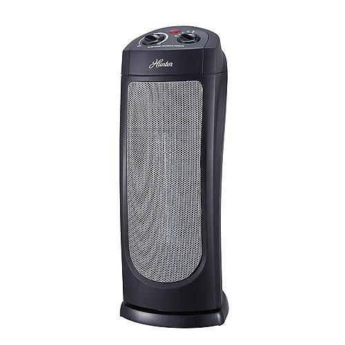 Oscillating Ceramic Heater with Thermostat