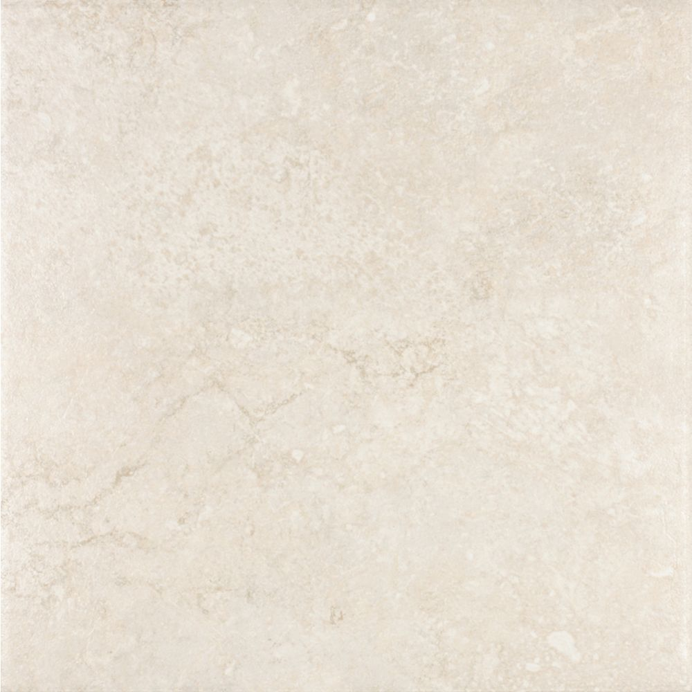 Eliane Sardegna Bianco 12 Inch x 12 Inch Glazed Porcelain Floor & Wall Tile (14.53 Sq. Ft./Case)