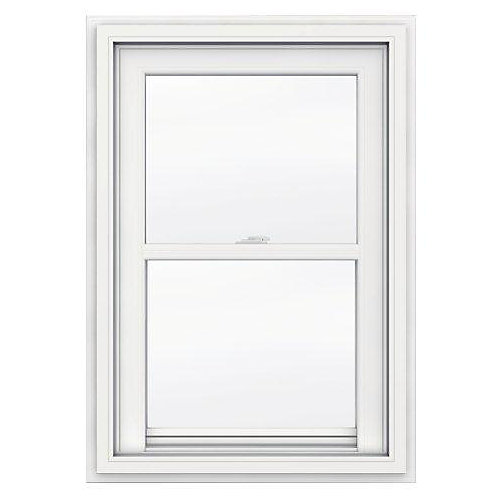24-inch x 36-inch 5000 Series Single Hung Vinyl Window with J Channel Brickmould - ENERGY STAR®