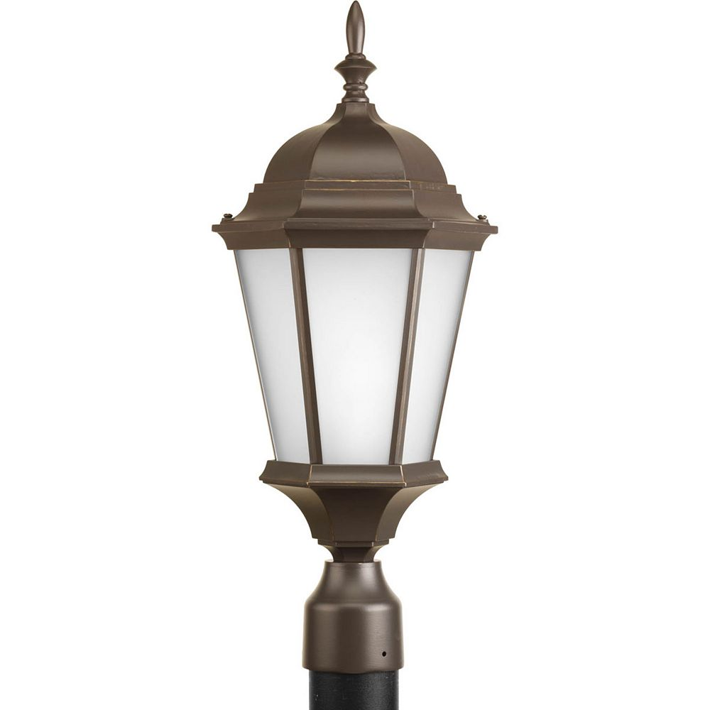 Progress Lighting Welbourne Collection 1 Light Antique Bronze Post Lantern