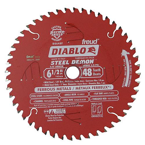 Diablo Ferrous Metal Blade 6-1/2 Inch