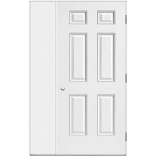 36 inch SHED DOOR & SIDELITE O/S RH