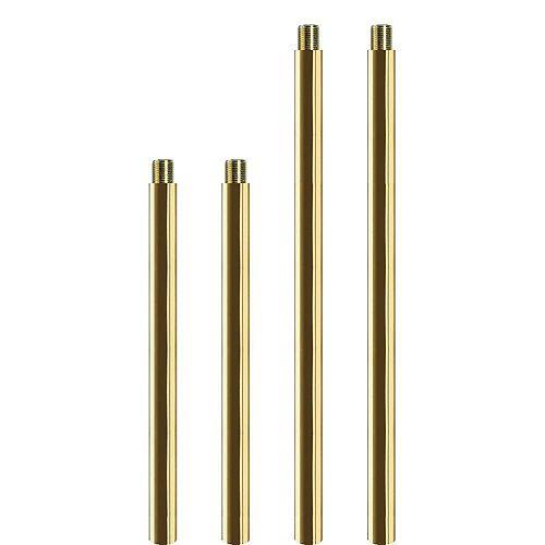 Polished Brass Accessory Stem Kit