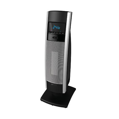 Digital LCD Mini Tower Ceramic Heater - 18 Inch