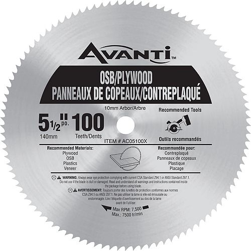 Lame Avanti 5-1/2 x 60 Dents