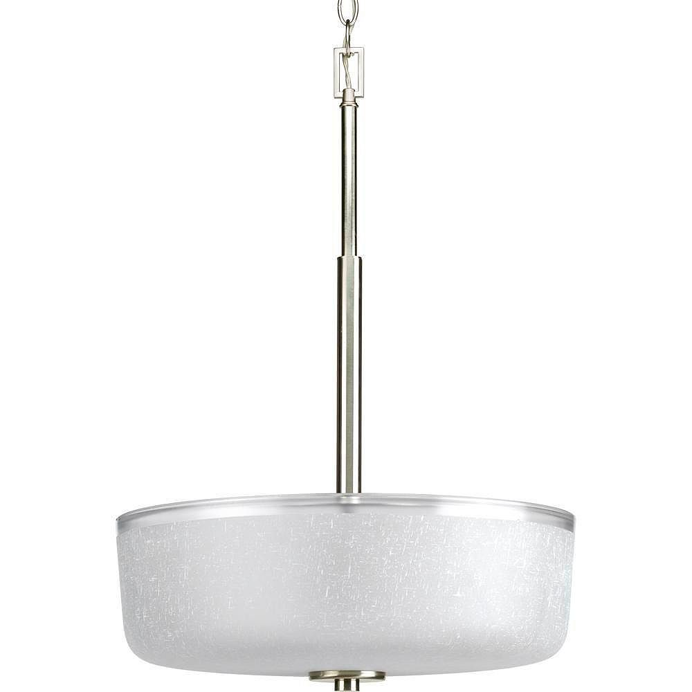 Progress Lighting Alexa Collection Brushed Nickel 3-light Foyer Pendant