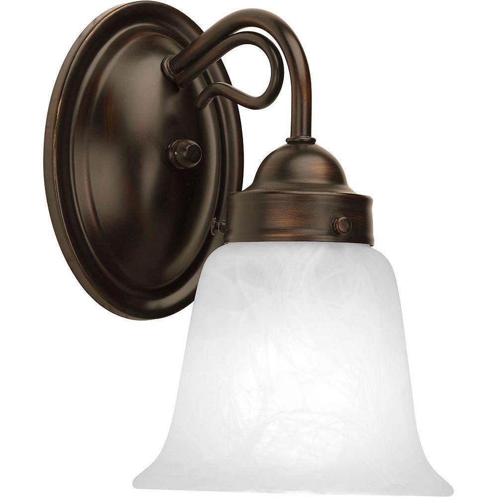 Progress Lighting Bedford Collection 1 Light Antique Bronze Bath Light