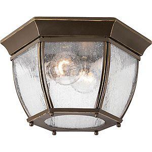 Bronze Outdoor Flush Mount Lights