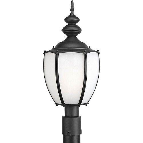 Fluorescente de Lampadaire à 1 Lumière, Collection Roman Coach - fini Noir
