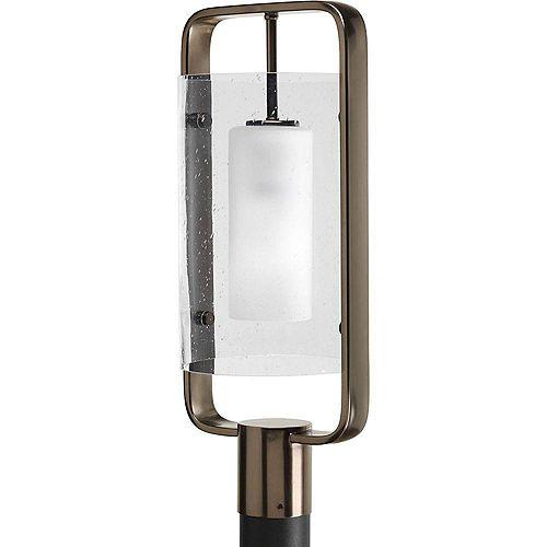 Fluorescente de Lampadaire à 1 Lumière, Collection Coupe - fini Bronze Venitiem