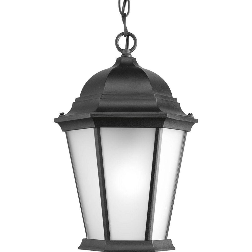 Progress Lighting Welbourne Collection 1 Light Black Hanging Lantern