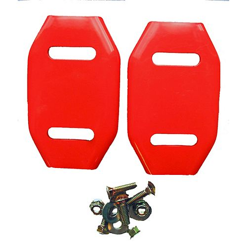 Steel Skid Shoes for Ariens Snow Blowers (2-Pack)