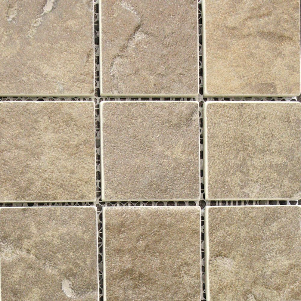 New Town 2 x 2 Arno Riverbed Ceramic Mosaic