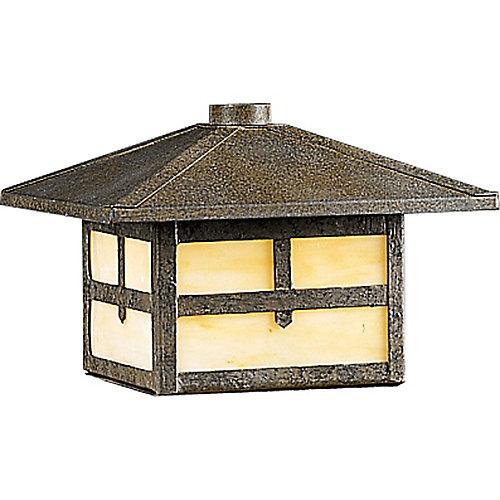 Lumière de patio de paysagement - fini Bronze Patiné