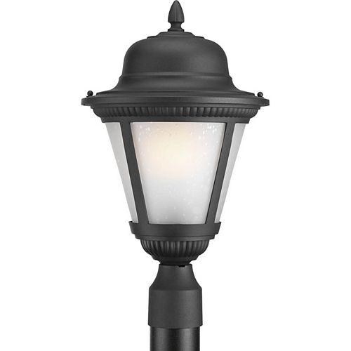 Fluorescente de Lampadaire à 1 Lumière, Collection Westport - fini Noir