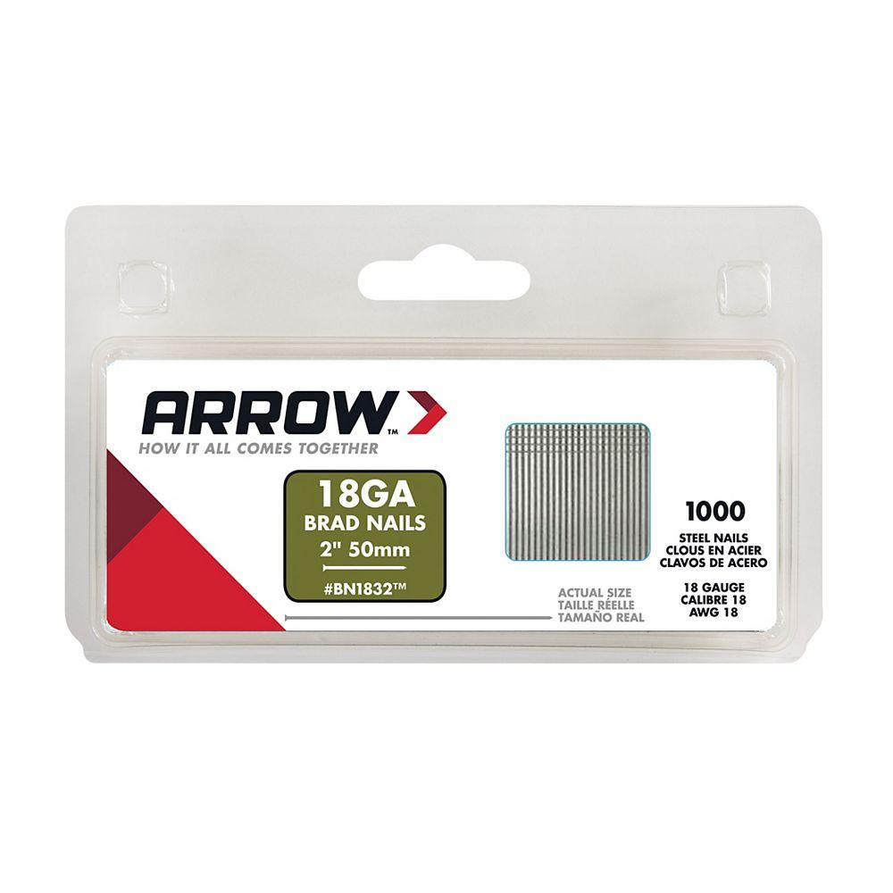 Arrow 2 po Clous (1000 pièces)