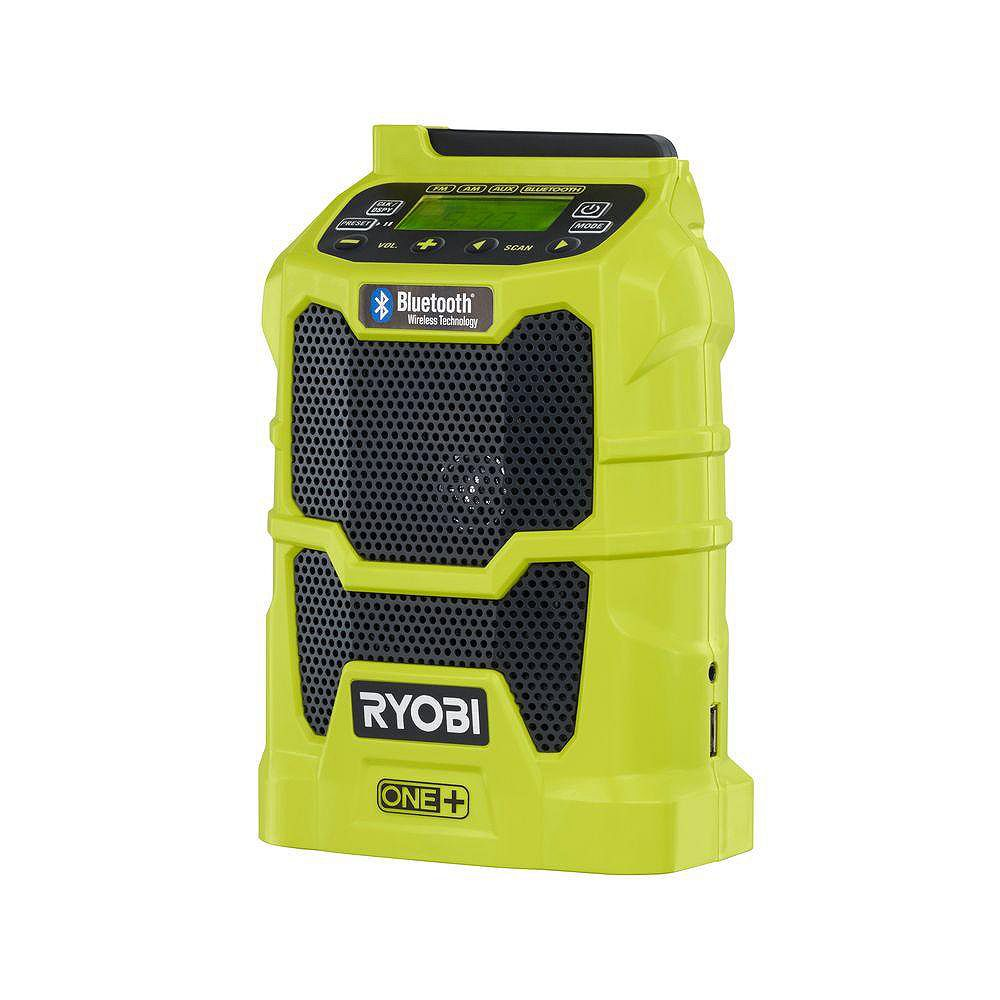 RYOBI 18V ONE+ Compact Radio with Bluetooth Wireless Technology (Tool-Only)