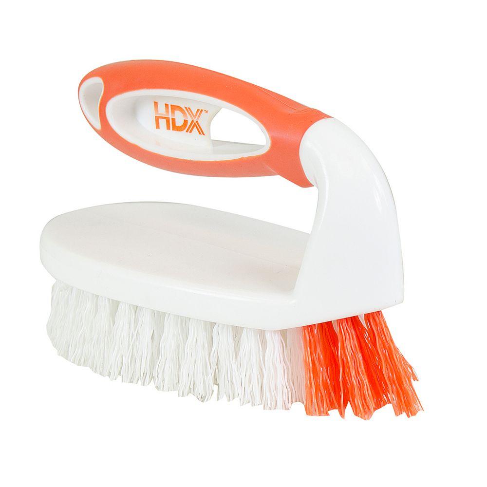 HDX Iron Handle Scrub Brush