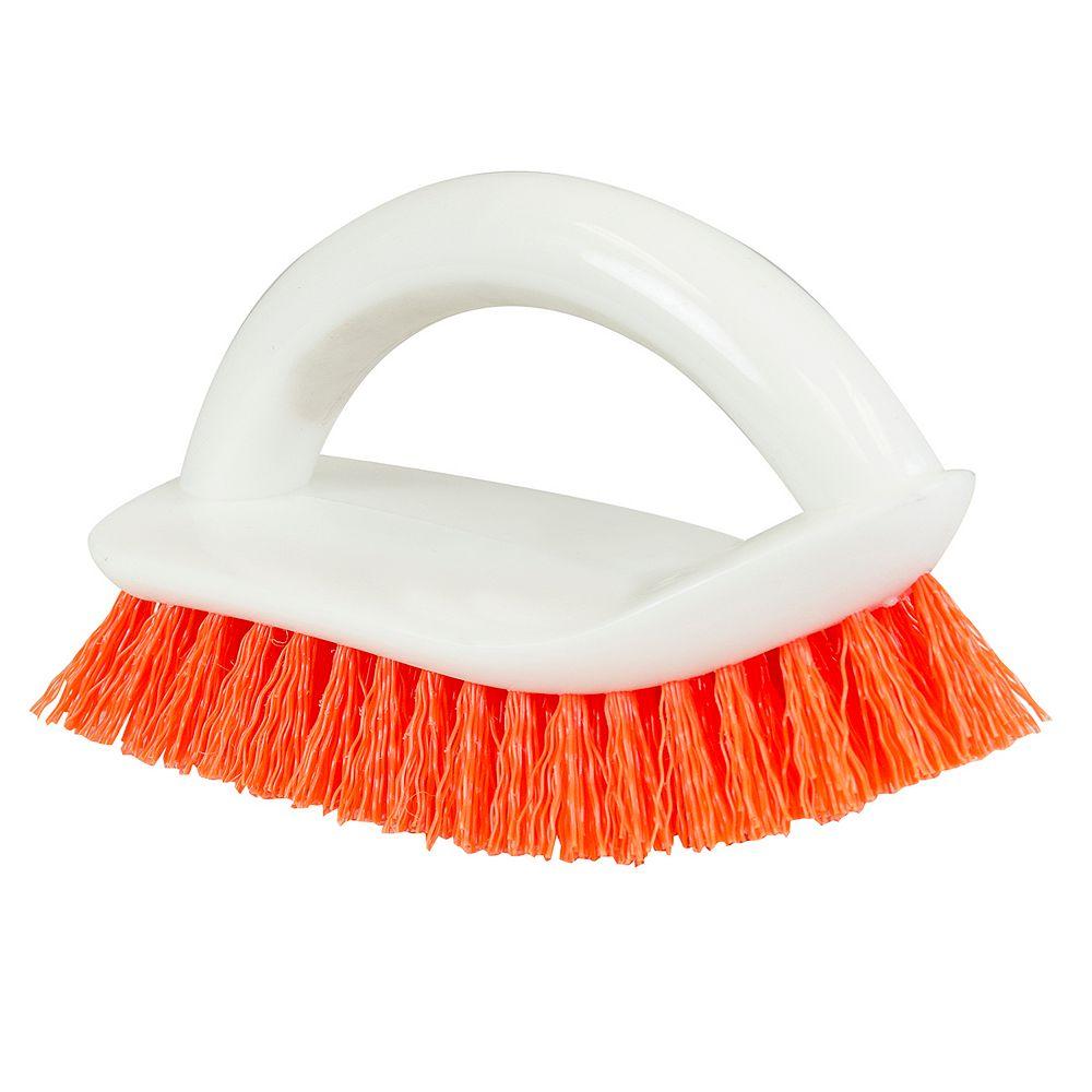 HDX Curved End Scrub Brush