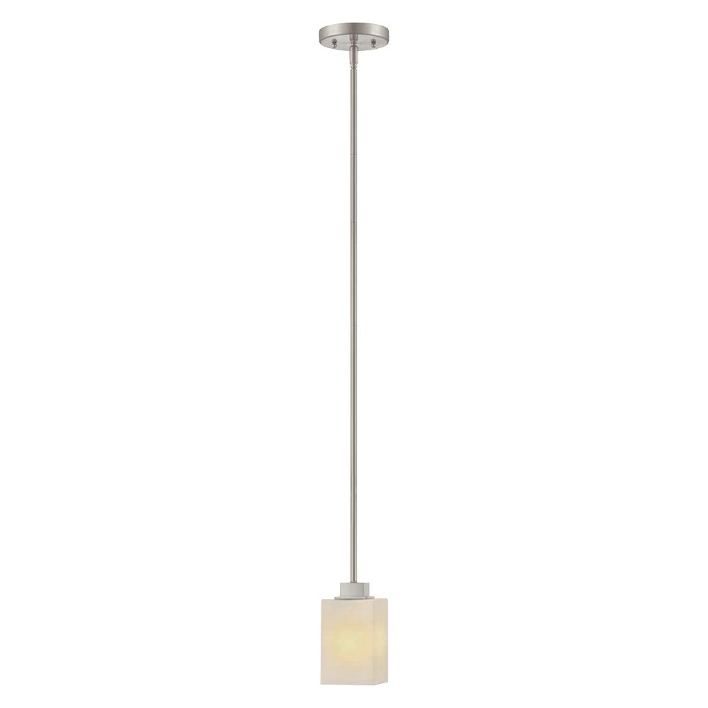 Hampton Bay 12,7 cm Luminaire suspendu, Fini nickel brossé