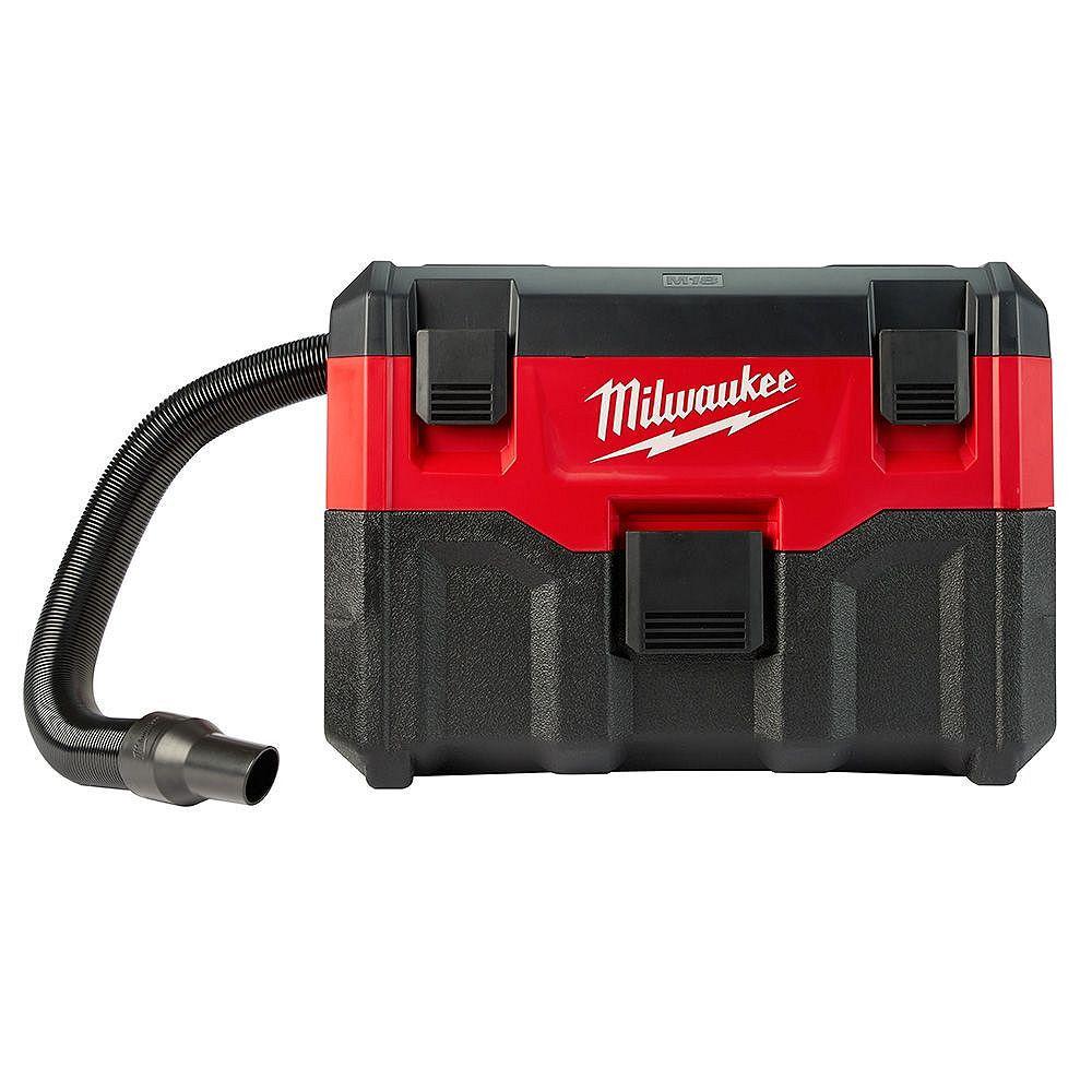 Milwaukee Tool M18 18V Lithium-Ion sans fil 2 Gal. Aspirateur humide/sec (outil uniquement)