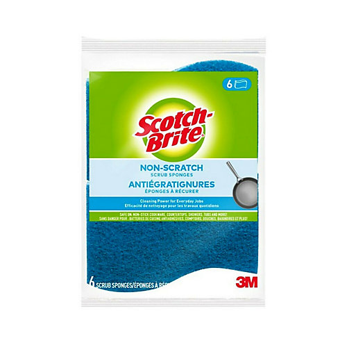 Multi Purpose Scrub Sponge - (6-Pack)