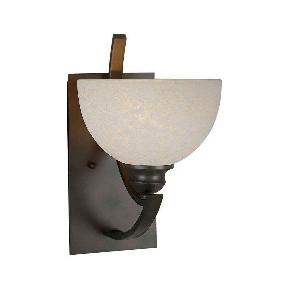 Filament Design Burton 1 Light Wall Antique Bronze  Incandescent Wall Sconce