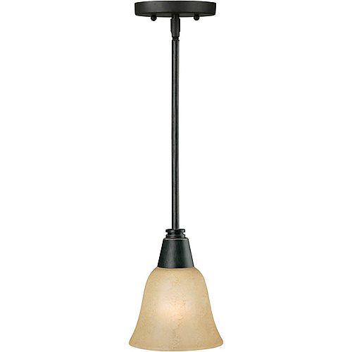 Filament Design Burton-Light Ceiling Bordeaux Pendant