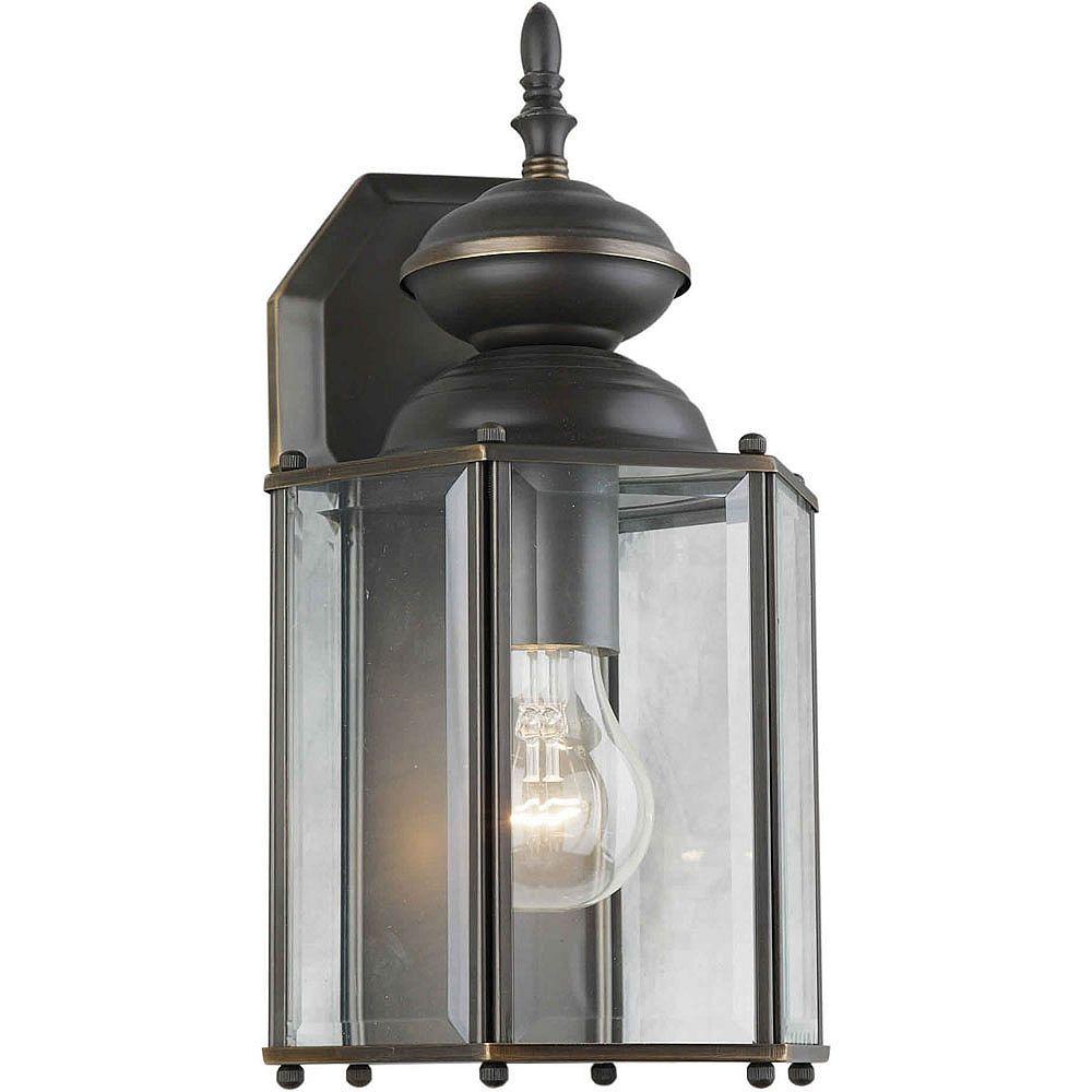 Filament Design Burton 1-Light Royal Bronze Outdoor Wall-Light