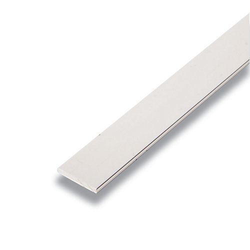 Metal Barre Argent 1/8 po x 3/4 po x 8 pied