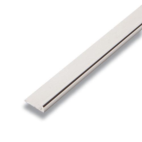 Metal Capuchon Argent 1/4 po x 3/4 po x 8 pied