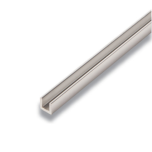 Metal Canal Aluminium 3/8 po x 3/8 po x 8 pieds
