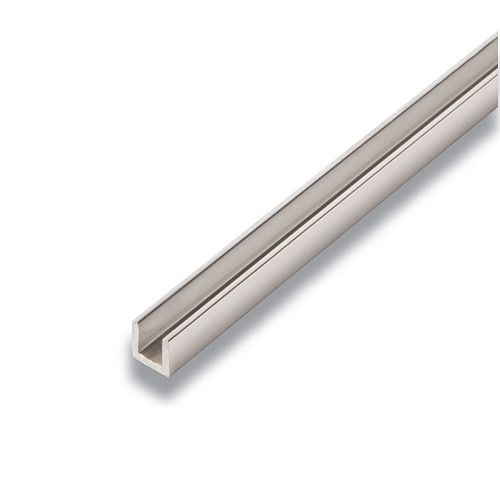 Metal U-Channel Mira Lustre 3/8-inch x 3/8-inch x 8 Ft.