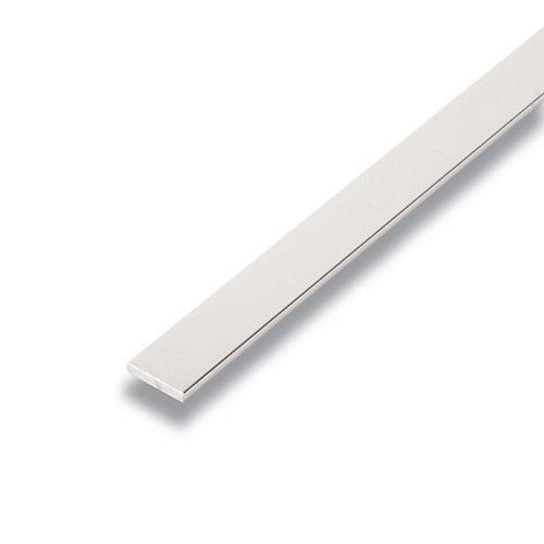 Metal Barre Argent 1/8 po x 1/2 po x 8 pied