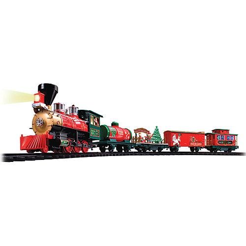 Décoration de Noël, train Pôle Nord Express avec télécommande